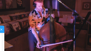 Robert Lucaciu - Double Bass Solo - Mini Radio Concert