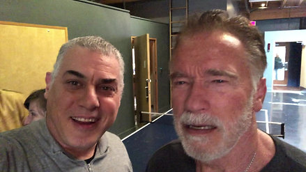 Peter Rafelson With Arnold Shwarzenegger Lime Studios Message to Bob 030619 h.264