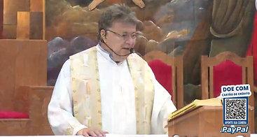 Santa Missa Festa do Batismo do Senhor com Padre Moacir Anastácio 09/01/2021