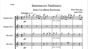 """Intermezzo Sinfonico"" from Cavalleria Rusticana by Pietro Mascagni (arranged by Andy Wilds)"