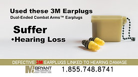 BLC 3m Hearing Plugs 20badge DL