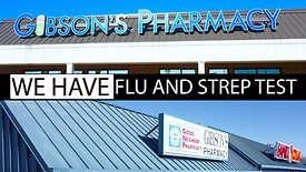 Gibsons Pharmacy - Strep and Flu Test