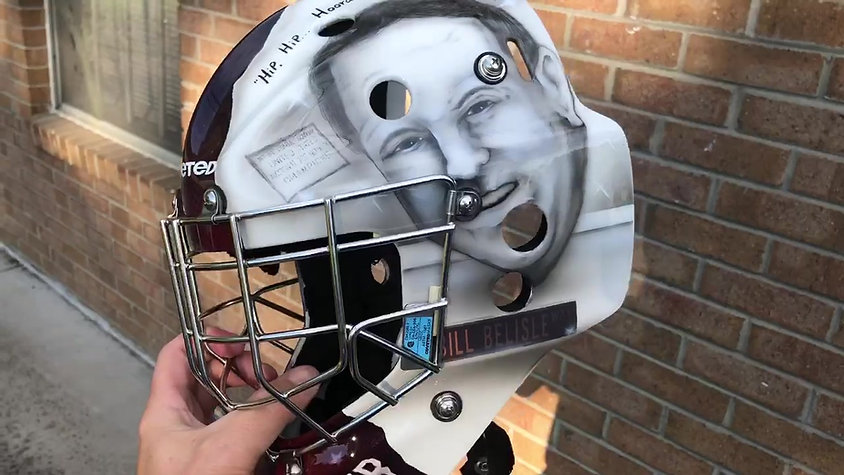 Bill Belisle Goalie Mask