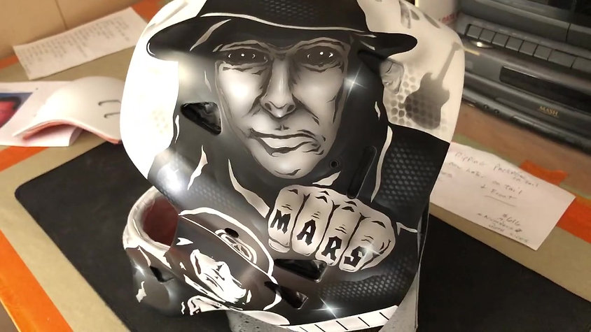 Mick Mars Goalie Mask