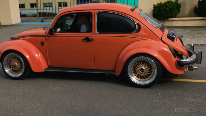 German Look Beetle with SS143 Super Sport Exhaust Sound