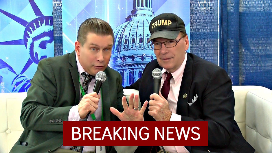 Stephen Baldwin and JJ Flash at CPAC 2020