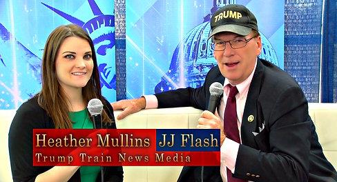 Heather Mullins and JJ Flash