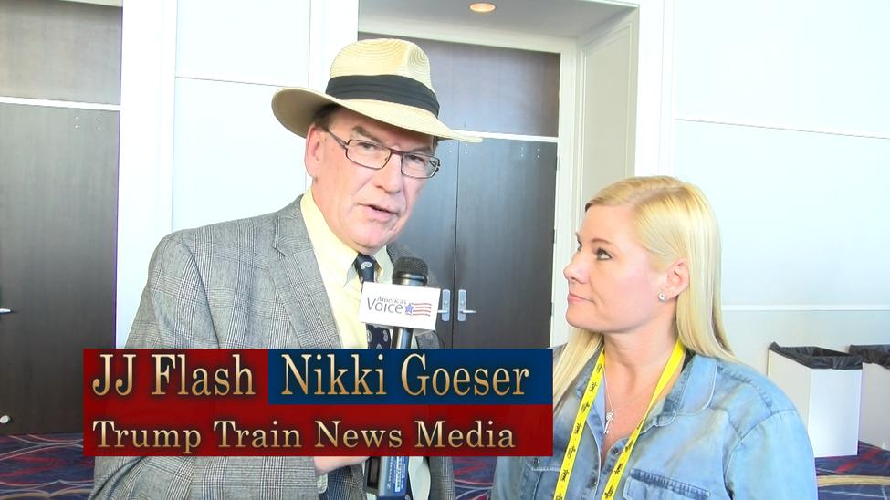 JJ Flash interviewing Nikki Goeser