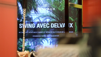 Swing with DELVAUX at Le Bon Marché