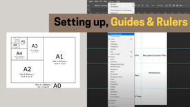 DAY 00 PART 02  - SETTING UP PRESENTATION BOARDS IN PHOTOSHOP