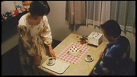 """お漏らし奥さん ノーパン割ぽう着 """"A Wife wearing only cooking apron"""""""