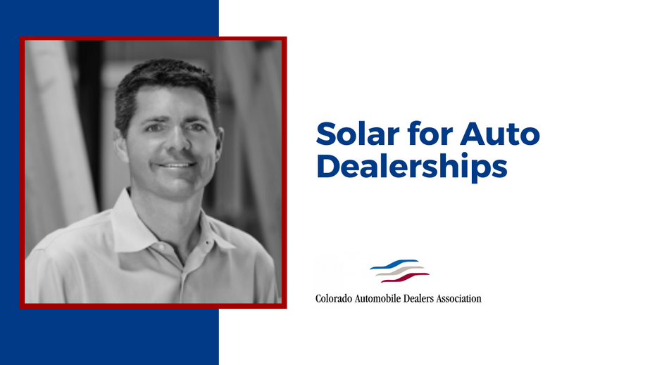 Solar for Auto Dealerships