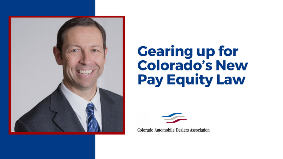 Gearing up for Colorado's New Pay Equity Law