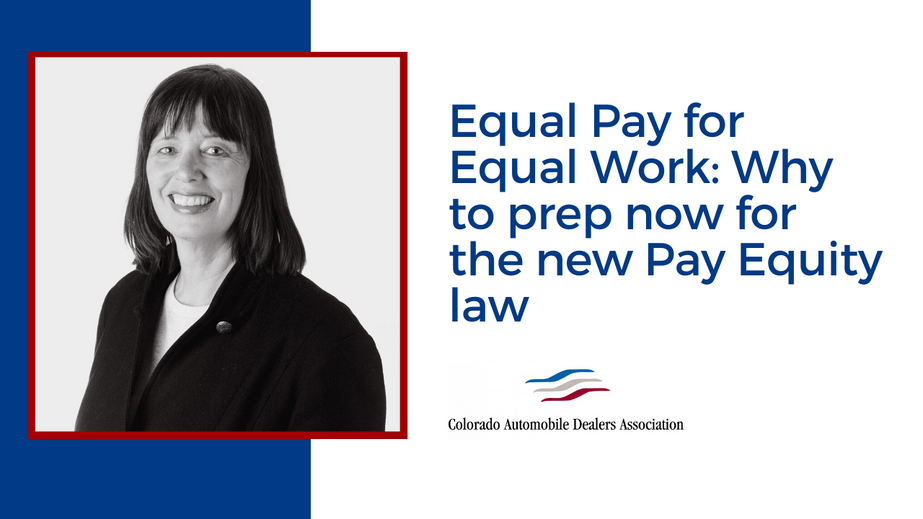 Equal Pay for Equal Work: Why to prep now for the new Pay Equity law