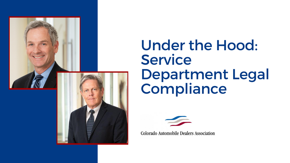 Under the Hood: Service Department Legal Compliance