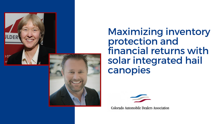 Maximizing inventory protection and financial returns with solar integrated hail canopies