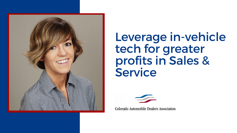 Leverage in-vehicle tech for greater profits in Sales & Service