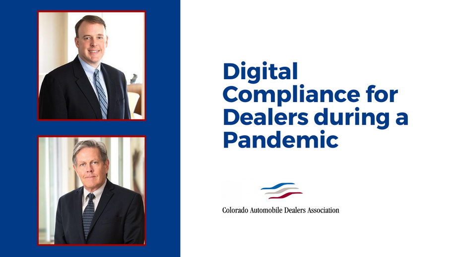 Digital Compliance for Dealers during a Pandemic