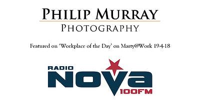 Philip Murray Photography On Radio Nova 19-4-18