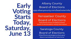 Early Voting Announcement