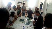 Demonstration of Scientific Footwear Pattern Making to Industrial Design students of PWWU 1