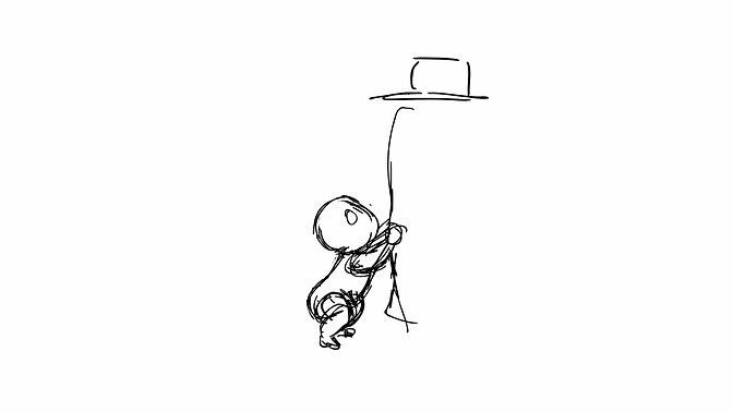 Weight and Tension Rough Animation