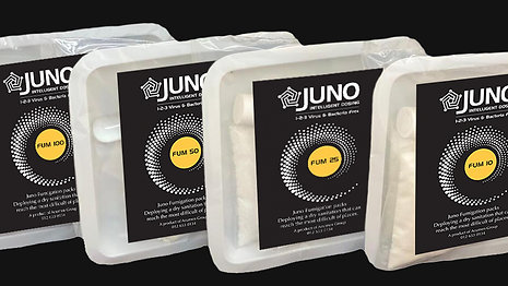 How to use Juno Fumigation Packs
