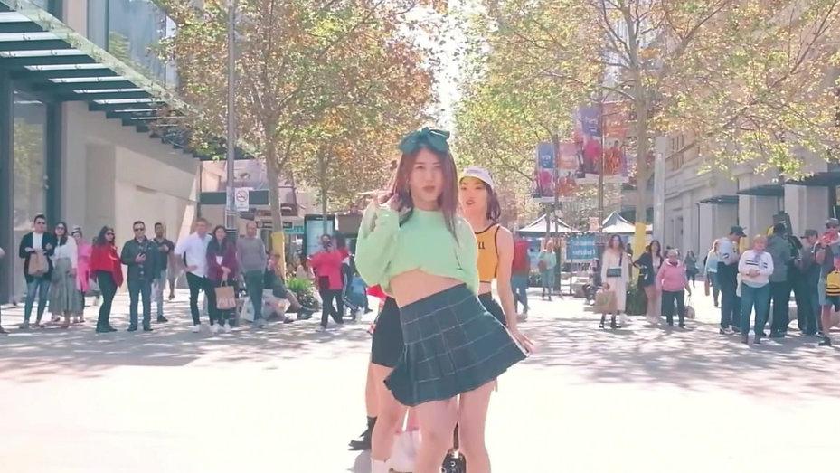 BLACKPINK- ICE CREAM   The MOVEs   PERTH AUSTRALIA