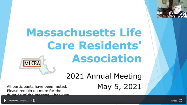 Annual MLCRA Meeting May 5, 2021