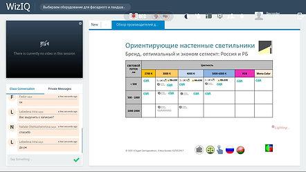 5. Оборудование для архитектурного освещения - РФ и РБ
