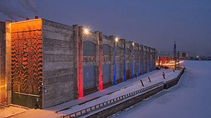 Архитектурное освещение общественных пространств и мест отдыха/ Ульяна Виноградова