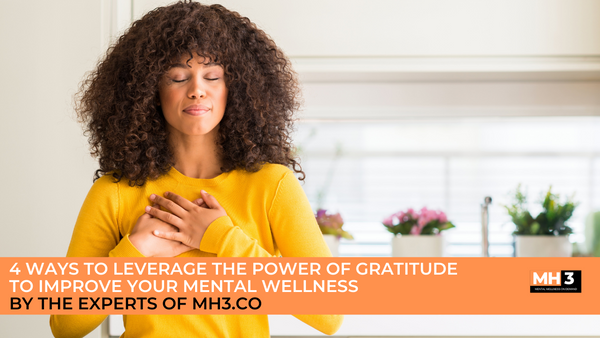 4 Ways to Improve Mental Wellness by MH3.CO HEALTH & WELLNESS EXPERTS