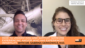 How to Understand and Support Someone Experiencing and/or Who Has Experienced Infertility with Dr. Sabrina Gerkowicz, M.D.