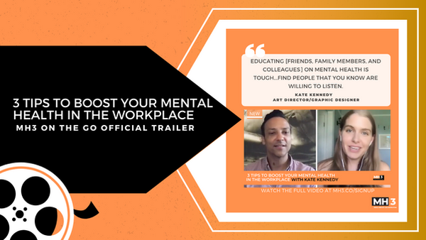 3 Tips To Boost Your Mental Health in the Workplace