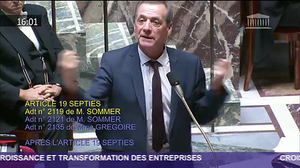 Assemblée nationale - 28 septembre 2018