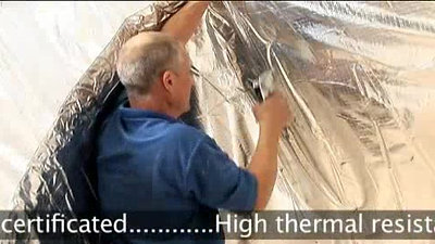 superQUILT Multi-layer Insulation Double Layer Application