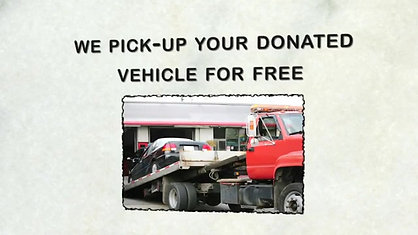 Vehicle Donation Program to Benefit SCO