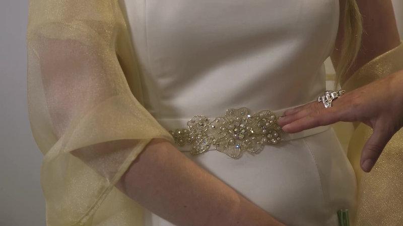 Bombshell Chic Wedding Dress 1