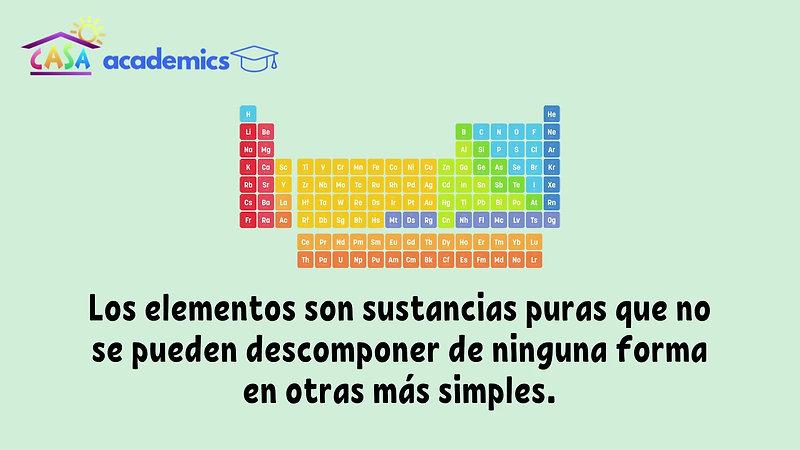 06. Química. Elementos y compuestos