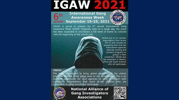IGAW 2021 - Introduction