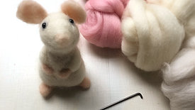 Needle-Felted Mouse