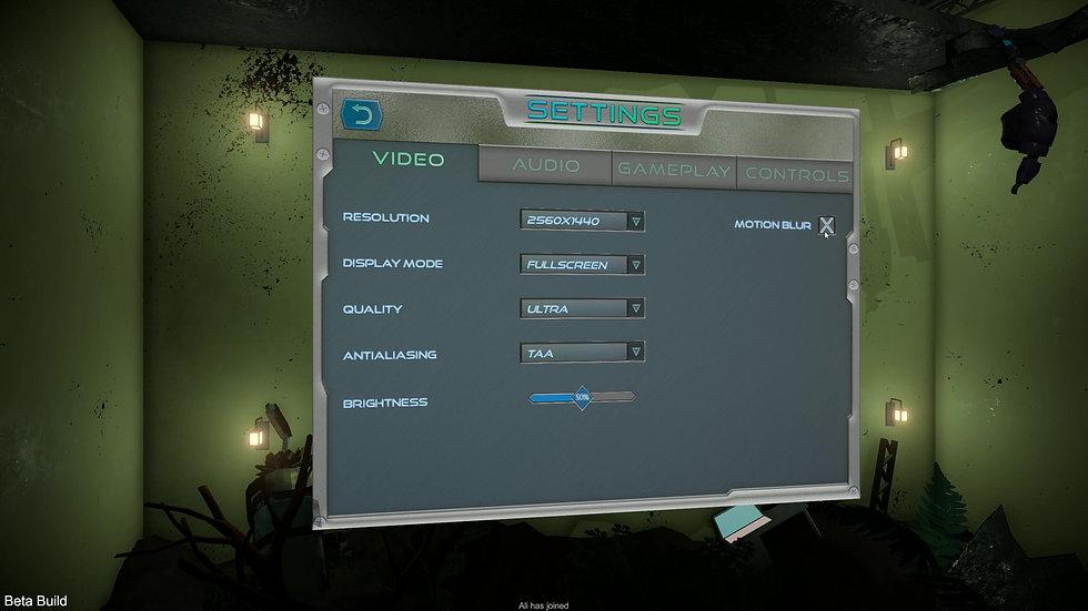 3D Main Menu