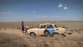 """Scene from """"Hitchhike the Wind"""" 