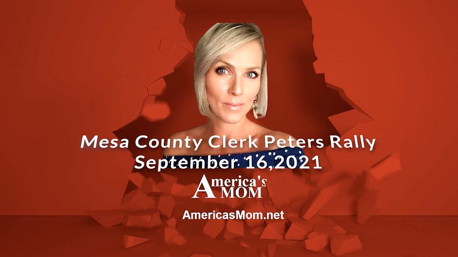 Mesa County Clerk Peters Rally