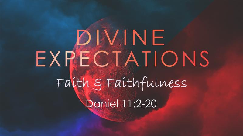 Faith & Faithfulness - March 22, 2020