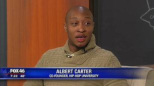Hip-hop Univeristy Co-founder Albert Carter talks with Good Day Charlotte