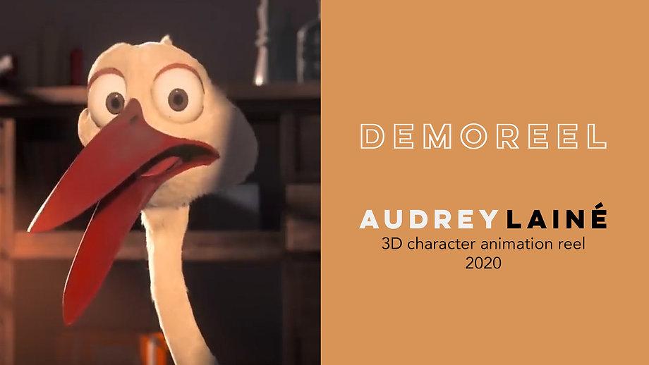 Audrey Lainé // Animation Demoreel 2020