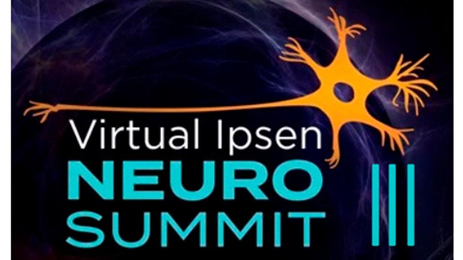 Neuro Summit III (tradução português): Congresso Científico da Ipsen Brasil focado em temas atuais e científicos sobre o tratamento com toxina botulínica na espasticidade, distonia e reabilitação.