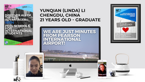 Conversation Corner - Yunqian (Linda) Li