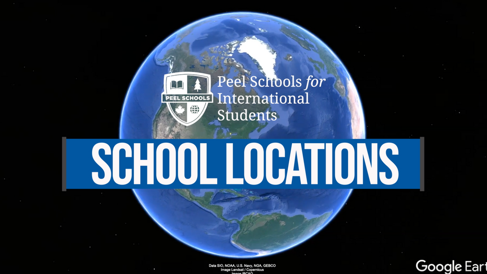 Fly Overs - School Locations - Peel Schools for International Students